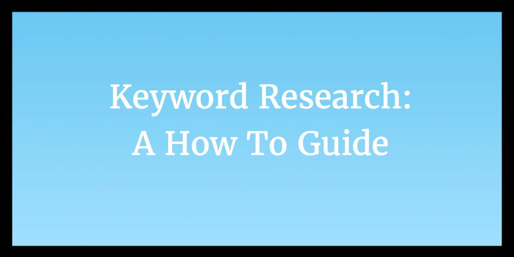 Long Tailed Keyword Research